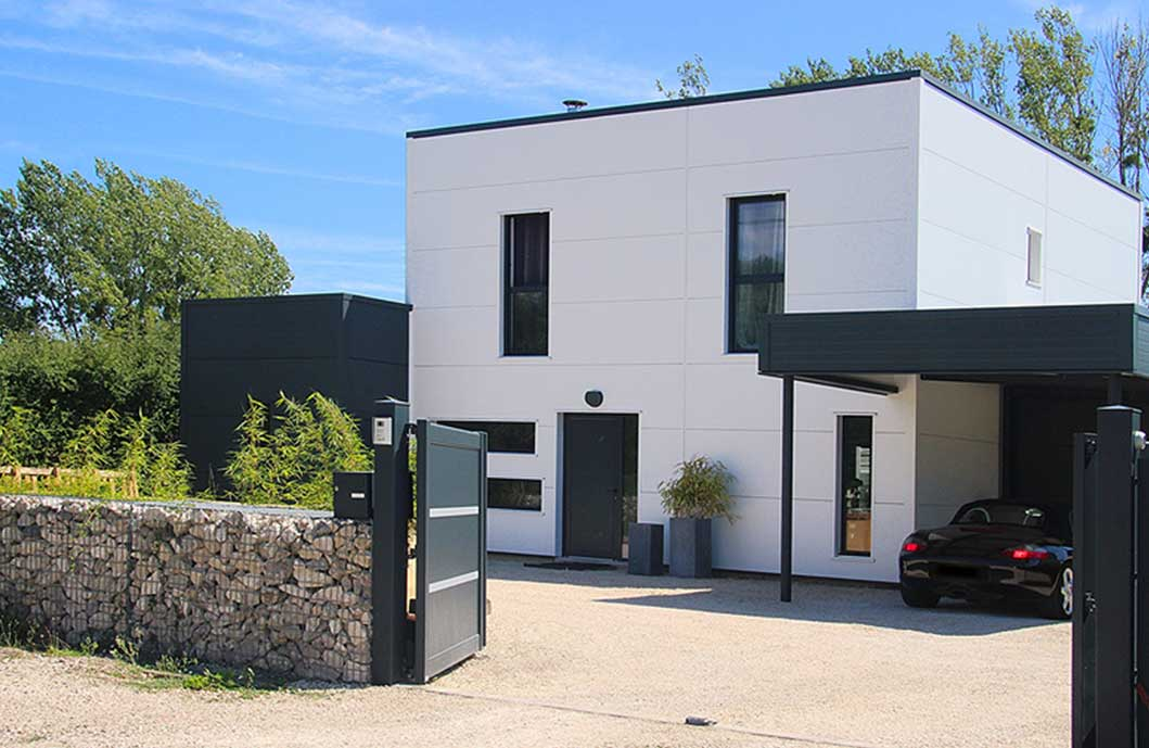Maison  Ossature Mtallique Blois  Maison Design Construction