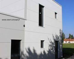 Steel Concept - Blois - MAISONS MÉTALLIQUES - 41500 - SUEVRES