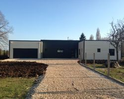 Steel Concept - Blois - MAISON A STRUCTURE MÉTALLIQUE - CHAILLES - 41120