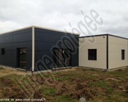 Steel Concept - Blois - Maison sur la Commune de OUCQUES ( 41)