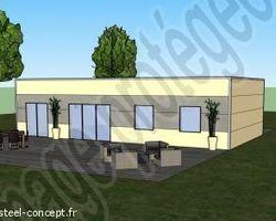 Steel Concept - Blois - Projet de maison à suivre